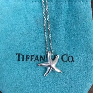 Tiffany & Co. Starfish Necklace with Pouch